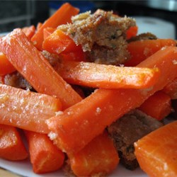 Zesty Carrots Recipe - This is an easy-to-make family favorite and has always been served as a side dish at our Thanksgiving dinners. Don't let the horseradish scare you. It merely adds a tangy flavor. You can use pre-made bread crumbs to make it even easier. Light mayo works fine and so does cooking spray on the casserole dish in place of butter.