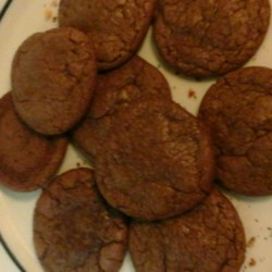 Brookies (Fudgy Brownie Cookies) Recipe - Brownie-style cookies, also known as brookies, are made with brownie mix and topped with a chocolate kiss for a crowd-pleasing treat.