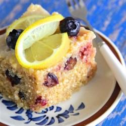Blueberry Quinoa with Lemon Glaze Recipe - Enjoy this delicious blueberry quinoa with lemon glaze for breakfast or as a dessert.