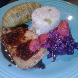 Pork Chops with Raspberry Sauce Photos - Allrecipes.com