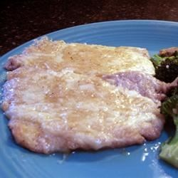 Veal Mozzarella Recipe - Wafer thin melt-in-your-mouth veal cutlets smothered in a decadent buttery sherry sauce.  Excellent for dinner parties.  I serve this with a salad tossed with raspberry vinaigrette and goat cheese crumbles, greens sauteed in garlic and olive oil, Italian bread, and plenty of  white wine!  Go all out - you can also serve this over angel hair pasta.