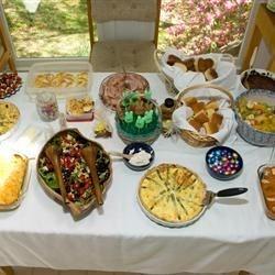 2009 Easter Eggstravaganza table