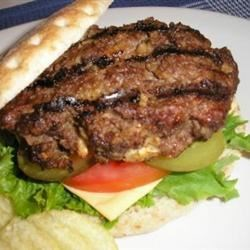 Sour Cream Burgers Recipe - Lots of flavor, and a nice change from just a regular burger. You can make these ahead of time and freeze them also. Serve on buns with all of your favorite toppings.