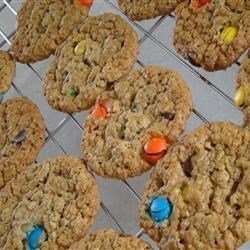 Monster Cookies II Recipe - This recipe makes large cookies and has NO flour.  I got it from my aunt in Southern Alberta (Canada) several years ago!!  Hope you enjoy it.
