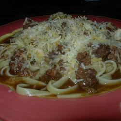 Lauren's Cincinnati Chili Recipe - Cincinnati's famous chili dates to 1922 when a Moravian immigrant created a dish with Middle Eastern spices including cloves, cinnamon, and allspice; along with chocolate, cayenne pepper, Worcestershire, and tomato sauce; and used the mixture to season ground beef. Served over spaghetti, the spicy dish with many variations has been a hit every since.