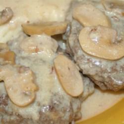 Scrumptious Salisbury Steak in Mushroom Gravy