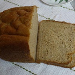 Bread Machine Almond Bread Recipe - Almond bread, made with almond flour and almond oil, baked in the bread machine is a hearty way to start the day and will keep you full until lunch.