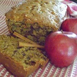 Crunchy Apple Bread