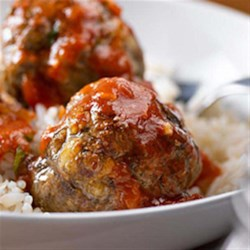 Cottage Cheese Meatball Marinara Recipe - The quest to make a healthier meatball has been a challenge. Often using leaner ground meats leads to tough and dry meatballs. Cottage cheese is the 'secret' ingredient that keeps these better-for-you meatballs moist and delicious. Share the fun and host a weekend meatball party. Invite your friends over to make big batches of these tasty, oven-baked meatballs to fill everyone's freezer with a quick weeknight meal solution.