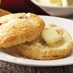 Cranberry Lemon Scones Recipe - Enjoy these versatile scones at breakfast or brunch, or with your afternoon tea.