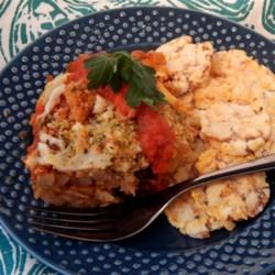 Seitan Diavolo Recipe - Spicy seitan diavolo in tomato sauce will delight your vegetarian and meat-eating friends alike!