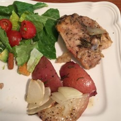 Crispy Rosemary Chicken and Fries Photos - Allrecipes.com