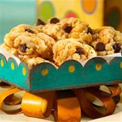 RICE KRISPIES(R) Chocolate Chip Cookies Recipe - There's nothing like chocolate chip cookies. Especially ones with a super-fun secret ingredient.