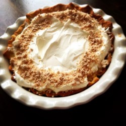 Real Southern Peanut Butter Pie Recipe - Made with peanut butter, custard, and topped with whipped topping, this Southern peanut butter pie is the real deal.