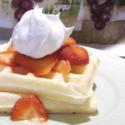 Waffles II Recipe - Yummy waffles that are quick and easy to make!