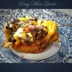 Easy Mini Quiche (my way)