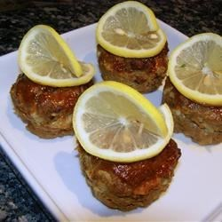 Lemon Barbeque Meatloaf