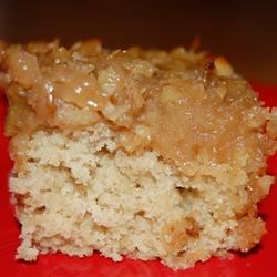 Grandma Snyder's Oatmeal Cake Recipe - This is a great cake for any sweet tooth.  It is good served hot too.