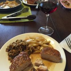 Apple Cider Sauce and Pork Loin Chops Photos - Allrecipes.com