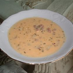 Ham, Potato, and Cheese Soup Recipe - This is especially good on a cold winter night along with hot rolls.