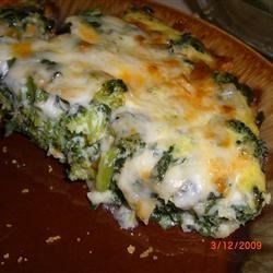 Spinach Muenster Quiche  Recipe - This cheese crusted quiche is great for vegetarian brunch guests.