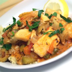 Turkish Fish Stew Recipe - A non-traditional variant of Turkish fish stew that blends various other Mediterranean influences.