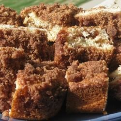 Traditional Coffee Cake Recipe - This is a family tradition. Every year my mom makes this cake for Christmas morning. It is great warmed!