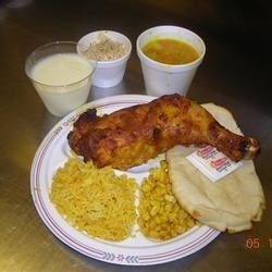 Taste of India plate