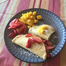 Paleo Coconut Crepes Recipe - Get Paleo diet-friendly crepes using coconut flour, almond milk, and this recipe.