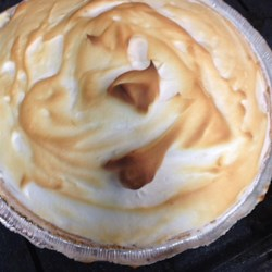 Lemon Icebox Pie I Recipe - This easy lemon pie has a meringue topping.