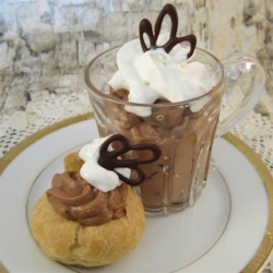 Ultimate Irish Cream Chocolate Mousse Recipe - A creamy chocolate mousse flavored with Irish cream. I really didn't know I could make something so good! I have also substituted dry gin for the Irish cream with delicious results.