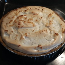 Coconut Cream Pie V Recipe - As is, this recipe makes a wonderfully rich meringue-topped pie. You can, however, quickly convert this recipe into one for a great chocolate coconut cream pie if you also use unsweetened coconut powder for the custard.