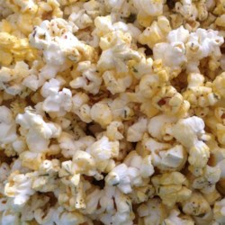Ranch Style Popcorn Seasoning Recipe - A tasty collection of spices and seasonings combine to create a ranch-flavored seasoning to sprinkle on lightly buttered or oiled popcorn.