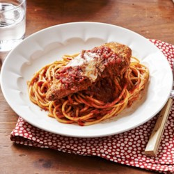 Ragu Chicken Parmesan Recipe - A great recipe for classic chicken Parmesan with a twist that will help you save time for a quick weeknight dinner.