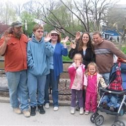 Mothers Day at the Zoo.