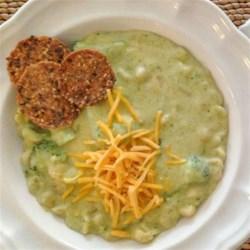 Broccoli Cheese Soup with Pasta Shells Recipe - Allrecipes.com