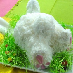 Easter Bunny 'Butt' Cake Recipe - Celebrate Easter with this festive and fun Easter Bunny 'butt' cake that your whole family will love.