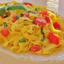 Checca Recipe - Let diced tomatoes, garlic, basil, and olive oil marinate for a few hours for a delicious Italian-style topping for bread slices.