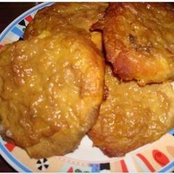 mustard onion pork chops