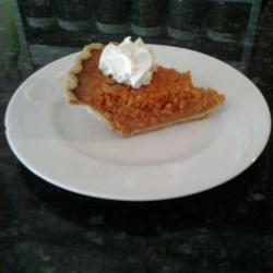 Carrot Pie Recipe - Swap carrots in for pumpkin puree for a festive Thanksgiving pie that uses the same spices as the traditional pumpkin pie.