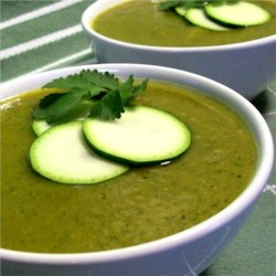 Curried Zucchini Soup Recipe - This simple and flavorful soup comes together in no time.