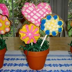 Mother's Day Cookie Pops