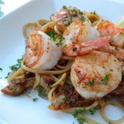 Seafood Rivera Recipe - If you're looking for a seafood pasta dish that will impress your guests, this seafood rivera recipe is for you!