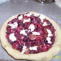 My first cherry pie!