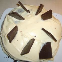 Suprise Cake with Cream Cheese Icing