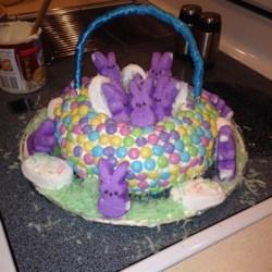 Easter basket cake recipes