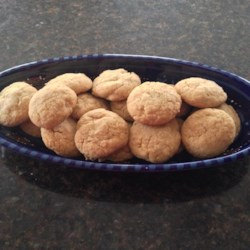 Walnut Cookies II Recipe - I invented this recipe last year and my family continues to beg for more. If you like, you can substitute pecans for the walnuts.