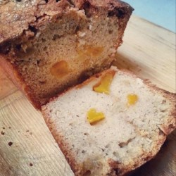 Peach Bread Recipe - Use canned peaches to make this quick bread recipe for a cinnamon-accented loaf perfect for the holiday table.