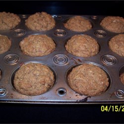 Bran Muffins III Recipe - All-purpose and whole wheat flours combine with wheat bran for a nourishing muffin that 's sweetened with molasses.