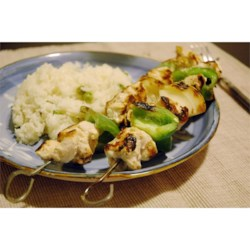 Marinated Greek Chicken Kabobs